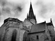 Notre Dame du Bon Secours Basilica Guingamp France Royaltyfri Foto