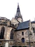 Notre Dame du Bon Secours Basilica Guingamp France Arkivbilder