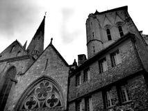 Notre Dame du Bon Secours Basilica Guingamp France Royaltyfri Fotografi