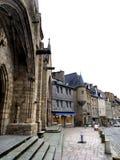 Notre Dame du Bon Secours Basilica Guingamp France Arkivfoto