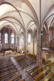 Notre Dame Du Bout Du Pont church interior in France Royalty Free Stock Image