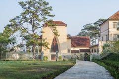 Notre Dame du Langbianor Couvent des Oiseaux学校 免版税库存照片