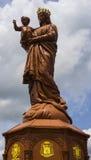 Notre-Dame du Puy statue Stock Image