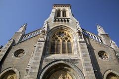 Notre Dame du Rocher - Sainte Eugenie Church, Biarritz. France Stock Image