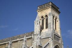 Notre Dame du Rocher - Sainte Eugenie Church; Biarritz. France Royalty Free Stock Photo
