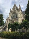 Notre Dame du Sablon Bruxelles Fotografie Stock