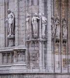 Notre Dame du Sablon De eerste kapel werd gebouwd hier in ea Royalty-vrije Stock Afbeeldingen