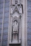 Notre Dame du Sablon De eerste kapel werd gebouwd hier in het oor Stock Afbeeldingen