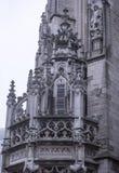 Notre Dame du Sablon De eerste kapel werd gebouwd hier in het oor Royalty-vrije Stock Afbeelding