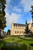 Notre-Dame du Sablon. From Square du petit sablon Royalty Free Stock Photos
