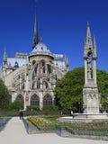 Notre Dame en París. Imagen de archivo