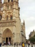 Notre Dame en París Imágenes de archivo libres de regalías