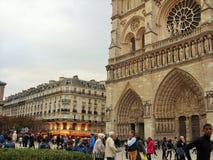 Notre Dame en París Imagen de archivo