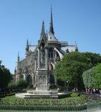 Notre Dame en París, Francew imágenes de archivo libres de regalías