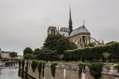Notre Dame en París Francia Fotografía de archivo libre de regalías