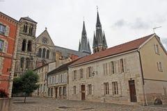 Notre-Dame-en-Vaux church, Chalons-en-Champagne Royalty Free Stock Photo