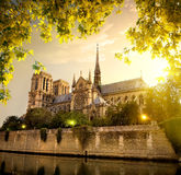 Notre Dame in France Stock Photos