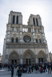 The Notre Dame Stock Image