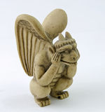 Notre Dame Gargoyle Royalty Free Stock Photography