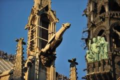 Notre-Dame Gargoyles, Paris Royalty Free Stock Image