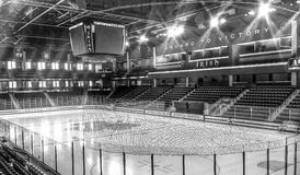 Notre Dame Hockey Royalty Free Stock Photos