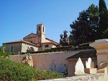 Notre Dame Hospice e cimitero situati sulla via del centro ospedaliero del san Immagine Stock