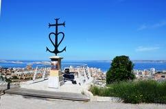 Notre Dame i Nice i Frankrike Royaltyfri Fotografi