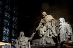 Notre Dame inside stock photos