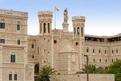 Notre Dame of Jerusalem royalty free stock images
