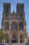 notre dame katedralny Rheims Zdjęcie Royalty Free