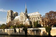 Notre Dame-kathedraal Parijs Stock Afbeeldingen