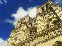 Notre-Dame-Kathedraal, Parijs Stock Foto's