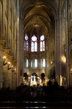 Notre-Dame kathedral in Paris Stock Image