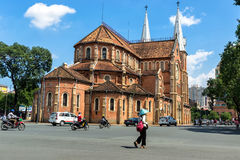 Notre Dame-Kathedrale Lizenzfreies Stockfoto