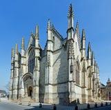 Notre-Dame-Kirche, Vitre, Bretagne, Frankreich Lizenzfreies Stockfoto