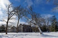 Notre-Dame-Kloster in Gorges de Franchard stockfotografie