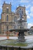 Notre Dame kyrka, Vitry le Francois Arkivfoto