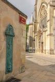 Notre Dame la Riche church. Tours. France Royalty Free Stock Photography