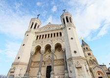 Notre-Dame Lion Fotografia Stock
