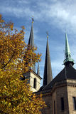 Notre dame Luxembourg Stock Images