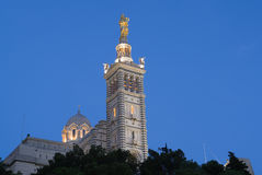 Notre Dame in Marseille in France Stock Photo