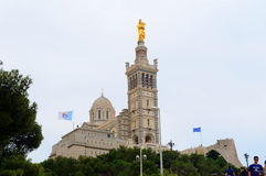 Notre Dame, Marseille, France Royalty Free Stock Photos