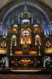 Notre Dame Montreal Stock Photography