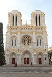 Notre Dame Nice Stock Photography