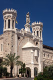 Notre Dame in the Old City of Jerusalem. Royalty Free Stock Image