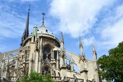 Notre Dame, París fotos de archivo libres de regalías