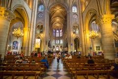 Notre Dame París Foto de archivo libre de regalías