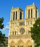 Notre Dame, Parigi Fotografie Stock Libere da Diritti