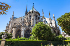 Notre Dame a Parigi fotografie stock