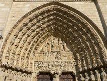 Notre Dame, Parigi (Francia) Fotografia Stock Libera da Diritti